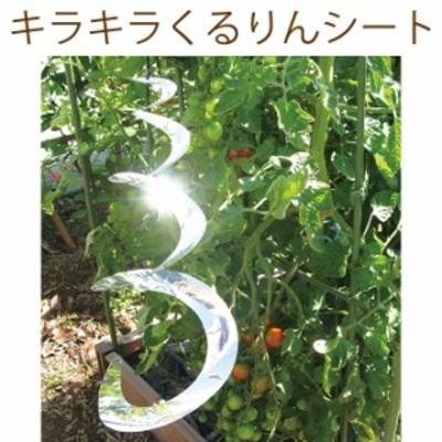 キラキラくるりんシート  鳥よけ 鳥対策 家庭菜園 野菜作り キラキラ