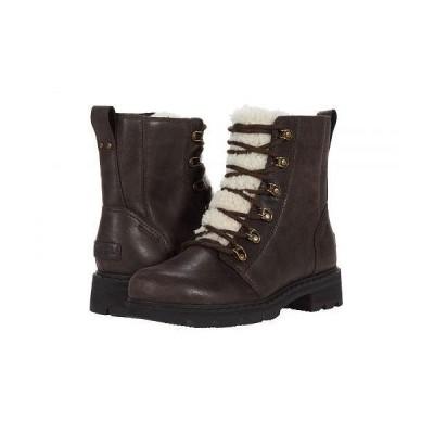 SOREL ソレル レディース 女性用 シューズ 靴 ブーツ レースアップ 編み上げ Lennox(TM) Lace Cozy - Blackened Brown