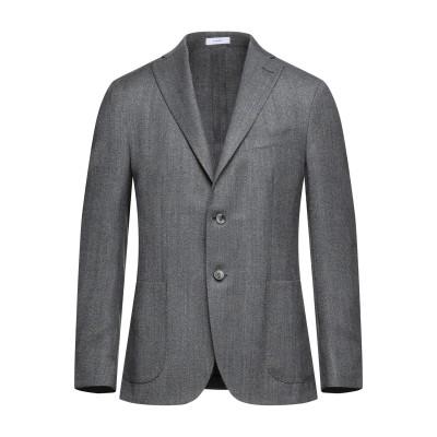 ボリオリ BOGLIOLI テーラードジャケット ブラック 48 バージンウール 100% テーラードジャケット