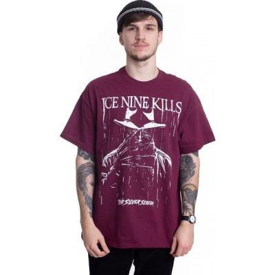 インペリコン Impericon メンズ Tシャツ トップス - Pouring Rain Maroon - T-Shirt burgundy