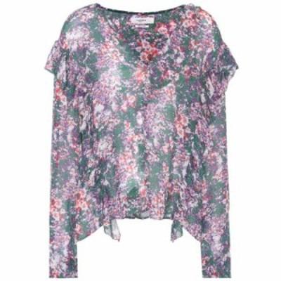 イザベル マラン Isabel Marant. Etoile レディース ブラウス・シャツ トップス Jelby printed blouse Green