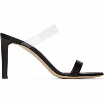ジュゼッペ ザノッティ Giuseppe Zanotti レディース サンダル・ミュール シューズ・靴 Black Leather Basic 85 mm Mule Sandals Black
