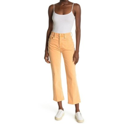 マザー レディース デニムパンツ ボトムス The Tripper High Waist Crop Bootcut Jeans APRICOT NE