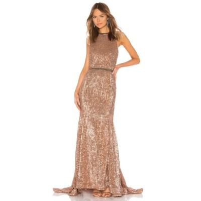 ブロンクス アンド バンコ Bronx and Banco レディース パーティードレス ワンピース・ドレス Moon Gown Bronze