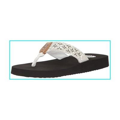 Yellow Box Women's Benji Wedge Sandal, White, 8 M US【並行輸入品】