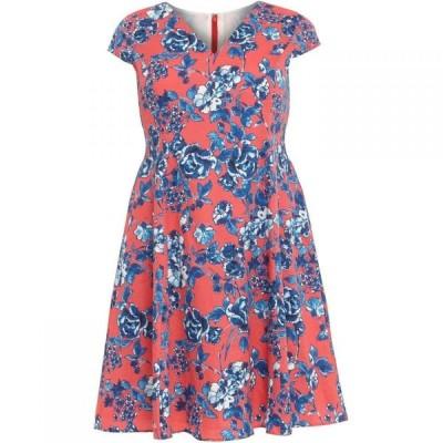 スタジオ8 Studio 8 レディース ワンピース ワンピース・ドレス Martelle Printed Dress Coral