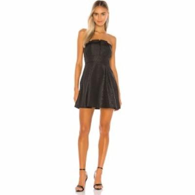 カミラ コエーリョ Camila Coelho レディース ワンピース ミニ丈 ワンピース・ドレス Mariazinha Mini Dress Black