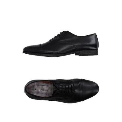 MARCO FERRETTI レースアップシューズ  メンズファッション  メンズシューズ、紳士靴  その他メンズシューズ、紳士靴 ブラック