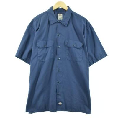 ディッキーズ Dickies 半袖 ワークシャツ メンズXL /eaa054462