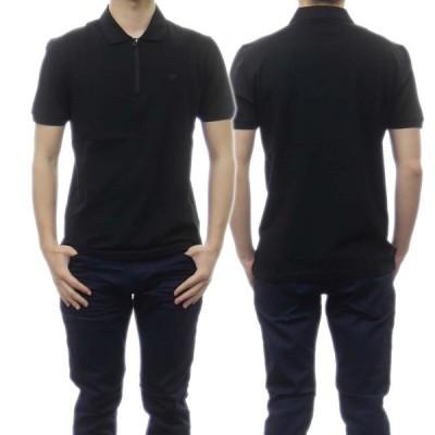 EMPORIO ARMANI エンポリオアルマーニ メンズポロシャツ 3K1FA8 1JTKZ ブラック /2021春夏新作
