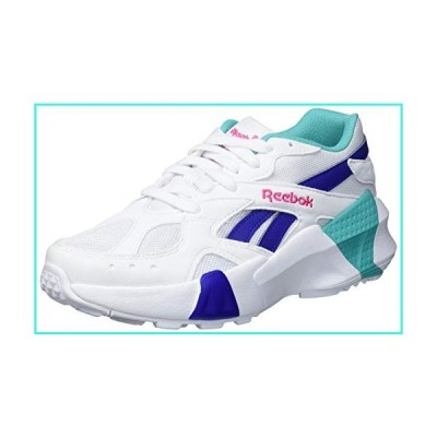 【新品】Reebok Aztrek Double 93 Sneaker, White/Teal/Blue, 8.5 M US(並行輸入品)