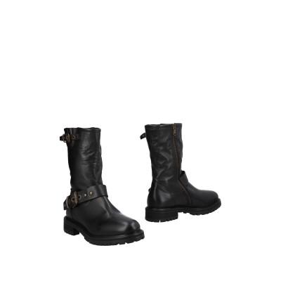 KEB ショートブーツ ブラック 39 革 ショートブーツ