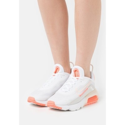 ナイキ スニーカー レディース シューズ AIR MAX 2090 - Trainers - white/crimson tint/bright mango