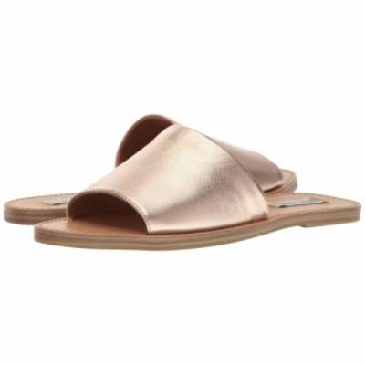 スティーブ マデン Steve Madden レディース サンダル・ミュール スライドサンダル シューズ・靴 Grace Slide Sandal Rose Gold
