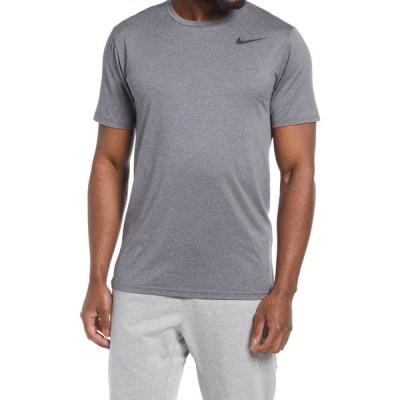 ナイキ NIKE メンズ フィットネス・トレーニング ドライフィット Tシャツ トップス Dri-FIT Static Training T-Shirt Iron Grey/Grey/Black