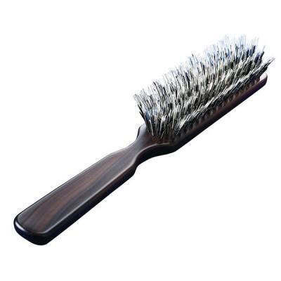 3段豚毛の少髪用ブラシ