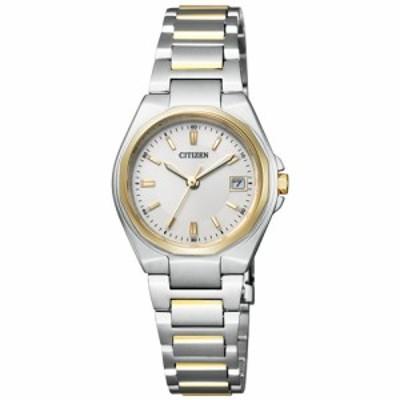シチズン CITIZEN コレクション エコドライブ ソーラー 腕時計 レディース ペアウォッチ EW1384-66P