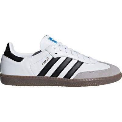 アディダス スニーカー シューズ メンズ adidas Men's Samba OG Shoes White/Black/White