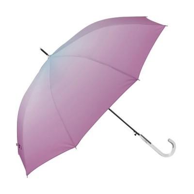 【バックヤードファミリー】 amusant sous la pluie レディース耐風長傘 60cm レディース ブルー系1 長傘60cm BACKYARD FAMILY
