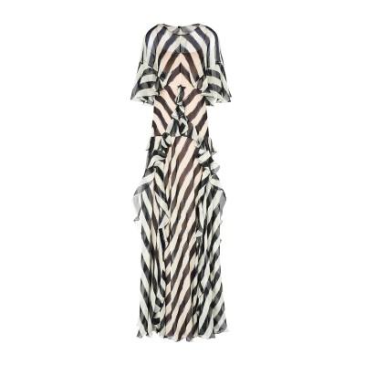 アルベルタ フェレッティ ALBERTA FERRETTI ロングワンピース&ドレス ベージュ 44 シルク 100% / ナイロン ロングワンピー