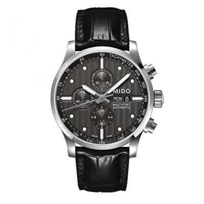 ミドー 腕時計 メンズウォッチ Mido Men's MIDO-M0056141606100 Multifort Analog Display Swiss Automatic Black Watch