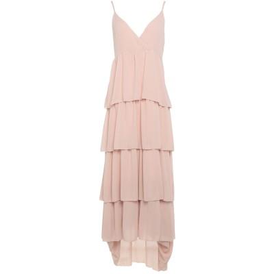 ベルナ BERNA ロングワンピース&ドレス ローズピンク M ポリエステル 100% / レーヨン / ポリウレタン ロングワンピース&ドレス