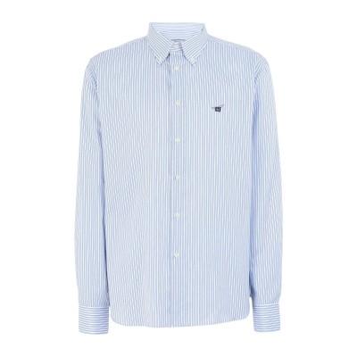 ヘンリー コットンズ HENRY COTTON'S シャツ スカイブルー XL コットン 100% シャツ
