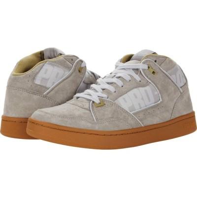 プロケッズ Pro-Keds メンズ スニーカー シューズ・靴 Classic Suede Jumpshot Grey/Gum Suede