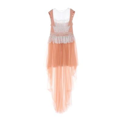 ELISABETTA FRANCHI ミニワンピース&ドレス ローズピンク 40 ナイロン 100% / ポリウレタン ミニワンピース&ドレス