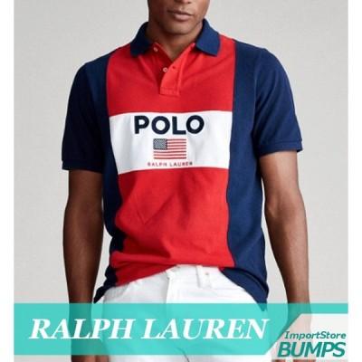 ポロ  ラルフローレン  ポロシャツ  半袖  メンズ  カスタムスリム  カラーブロック  フラグメッシュ  XS〜XXL  ゴルフ&カジュアル  新作  RL