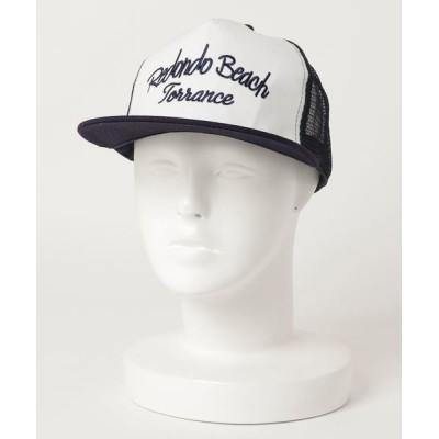 VIBGYOR / 【Holiday A.M/ホリデーエーエム】BEACHロゴ刺繍メッシュキャップ WOMEN 帽子 > キャップ