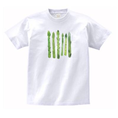 アスパラガス 食べ物・飲み物・野菜 Tシャツ