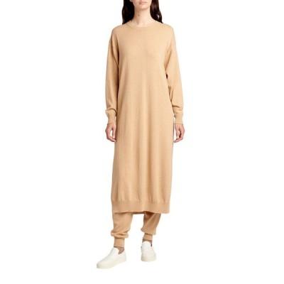 ザ ロウ レディース ワンピース トップス Anibale Cashmere Long Sweater Dress