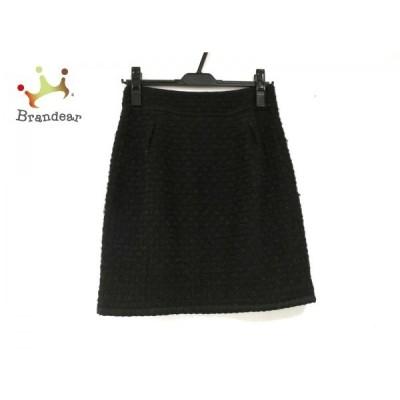 ジャスグリッティー JUSGLITTY スカート サイズ2 M レディース 美品 黒     スペシャル特価 20200424