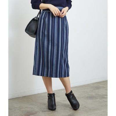 【ロペピクニック/ROPE' PICNIC】 ストライプタイトスカート