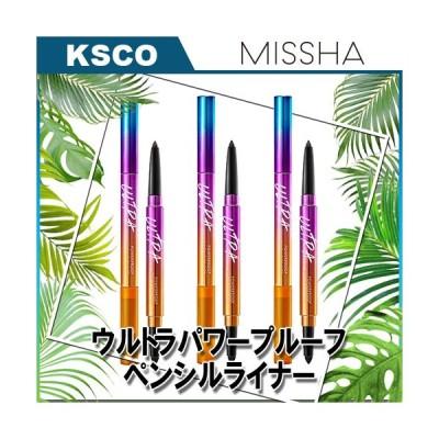 NEW 新商品 MISSHA ミシャ (リニューアル) ウルトラ パワー プルーフ ペンシル ライナー 韓国コスメ 正規品