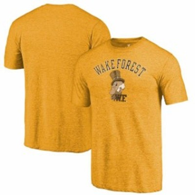 Fanatics Branded ファナティクス ブランド スポーツ用品  Fanatics Branded Wake Forest Demon Deacons Gold Vault Arch Over Logo Tri-
