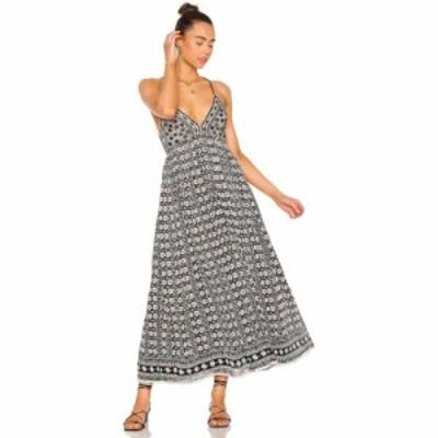 フリーピープル Free People レディース ワンピース ミドル丈 ワンピース・ドレス Good Vibes Midi Dress Black Combo