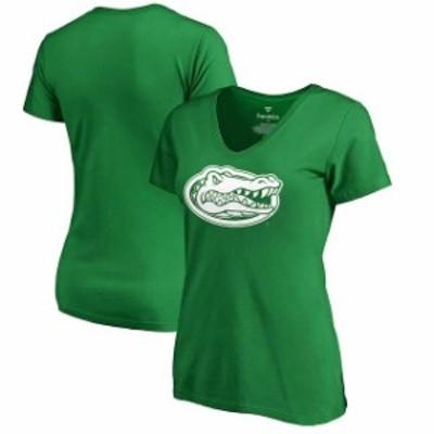 Fanatics Branded ファナティクス ブランド スポーツ用品  Fanatics Branded Florida Gators Womens Kelly Green St. Patricks Day White