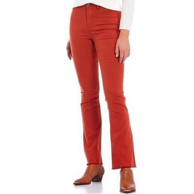 エーラブスエー レディース デニムパンツ ボトムス 5 Pocket Twill Flare Jeans Rust