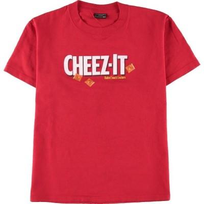 STEVE & BARRY'S Cheez-It チーズイット アドバタイジングTシャツ レディースL /eaa137356