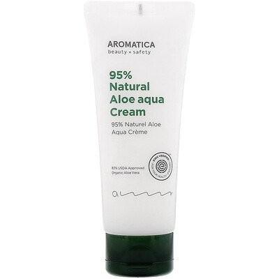95% Natural Aloe Aqua Cream, 5.2 oz (150 g)