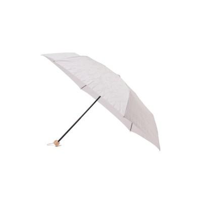 (Ray BEAMS/レイビームス)Ray BEAMS / ミグノンフラワー 刺繍 折りたたみ 日傘/レディース LAVENDER