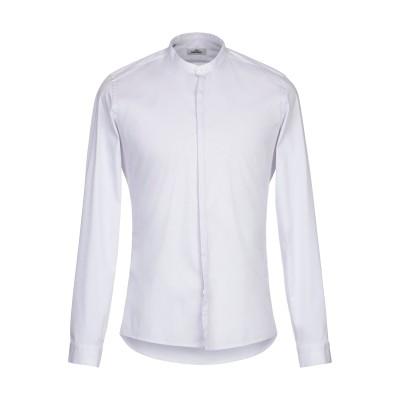 ALEA シャツ ライトグレー 39 コットン 75% / ナイロン 22% / ポリウレタン 3% シャツ