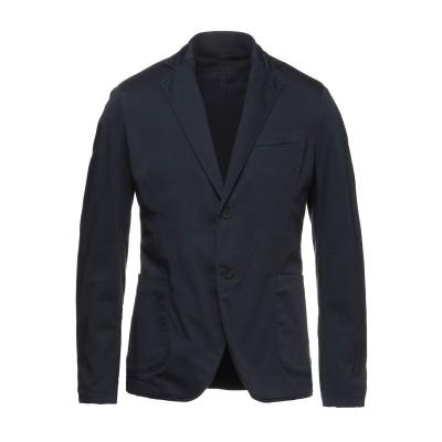 MARCIANO テーラードジャケット ダークブルー 48 コットン 98% / ポリウレタン 2% テーラードジャケット