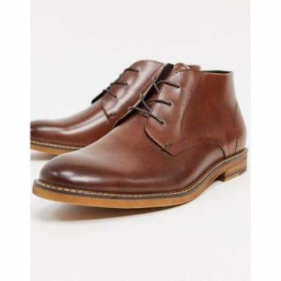 ケネス コール Kenneth Cole メンズ ブーツ チャッカブーツ シューズ・靴 dance chukka boots in cognac leather コニャック