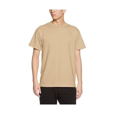 (ユナイテッドアスレ)UnitedAthle 5.6オンス ハイクオリティー Tシャツ 500101 537 サンドカーキ L