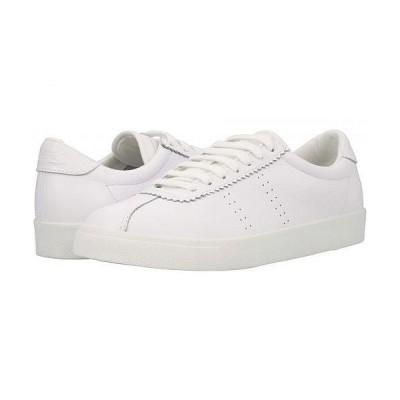 Superga スペルガ レディース 女性用 シューズ 靴 スニーカー 運動靴 2843 - Club S Full Comfortleather - Total White