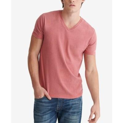 ラッキーブランド メンズ Tシャツ トップス Men's Heather Sunset T-shirt