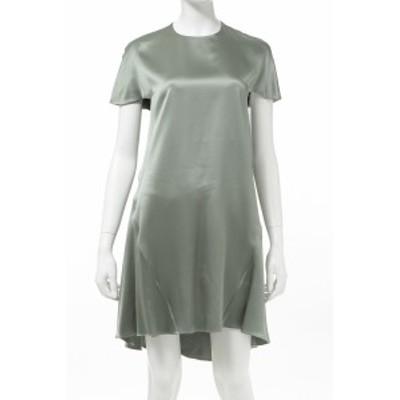バレンシアガ BALENCIAGA ワンピース ドレス 半袖 カーキ レディース (342814 TIC14) 送料無料 人気ブランド